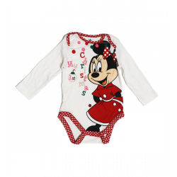 Primark Minnie Mouse Baby Christmas Suit, 9-12 Months