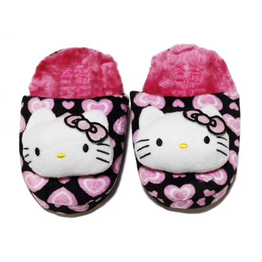 Winter Slippers - Pink Hello Kitty
