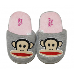 Winter Slippers - Pink Monkey