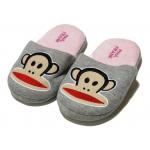 Winter Slippers - Pink Monkey