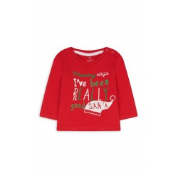 Primark Long sleeve Christmas shirt (0-12)