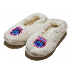 Winter slippers - White Little Miss