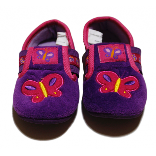 Winter Slippers - Butterfly