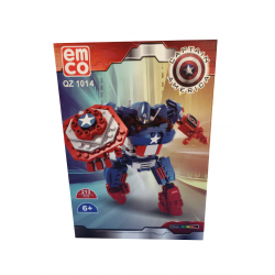 Emco Captain America 213 Pieces