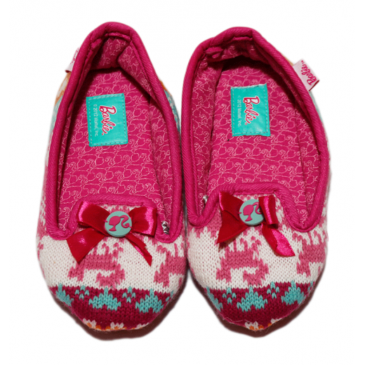 Winter Slippers - Barbie