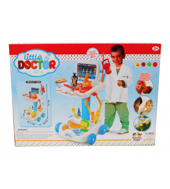 DELUX DOCTOR TROLLY SET