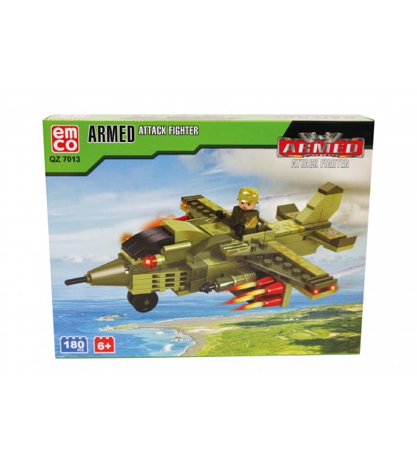EMCO ARMED ATTACK FIGHTER 180 PCS