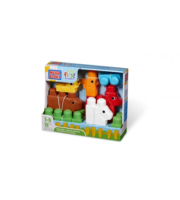 Mega Blocks -FARM PALS FIRST BUILDERS
