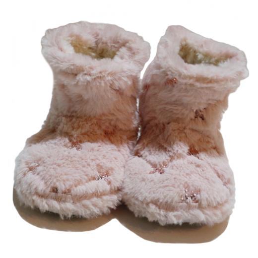 Winter Slippers -  Fluffly Stars
