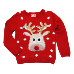 Primark Long sleeve Christmas shirt 7-8 Years