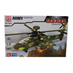 EMCO-ARMY HELICOPTER 312 Pieces