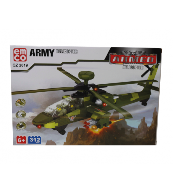 EMCO ARMY HELICOPTER 312 PCS