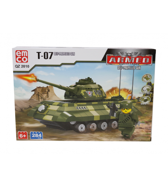 EMCO T-07 SELF-PROPELLED GUN 284 PCS
