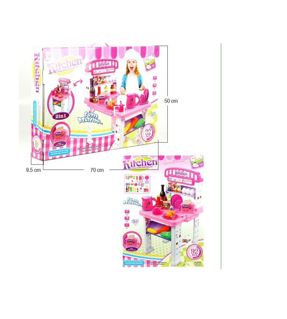 KITCHEN LIVING SMALL CHEF PLAYSET PCS 92