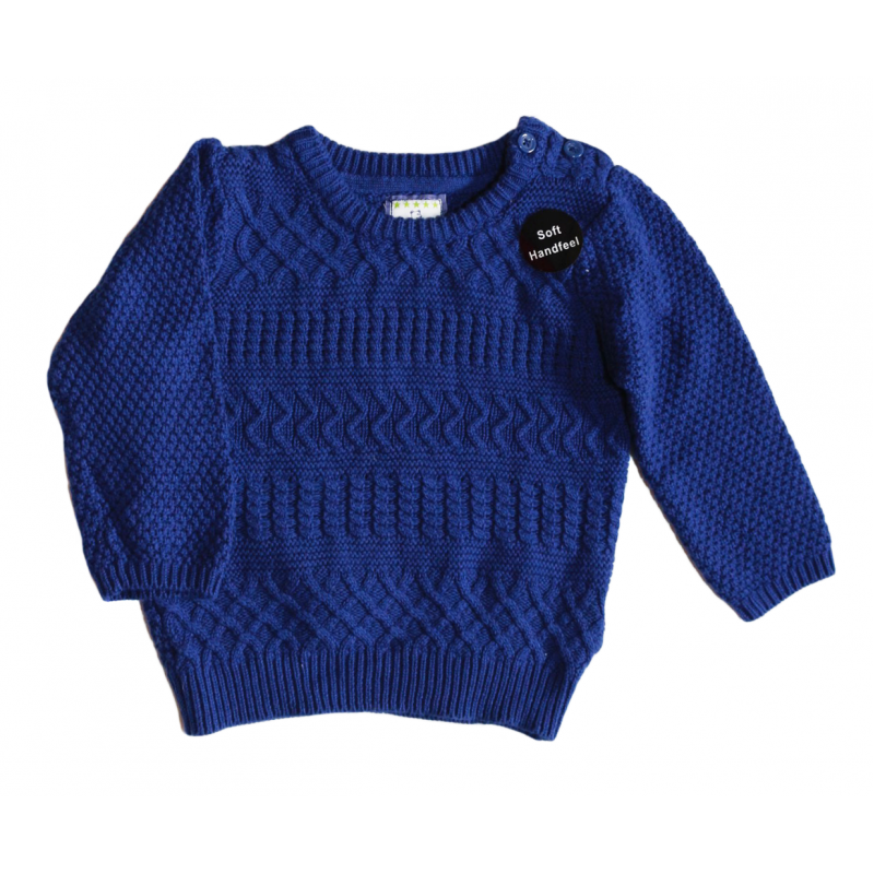Primark Long sleeve shirt 9-12 Months (Dark Blue ...