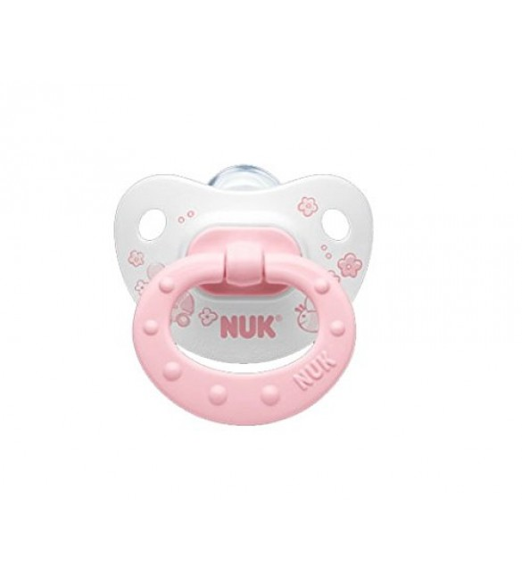 Nuk- Baby Rose Pacifier Stage 2 (6-18 Months)