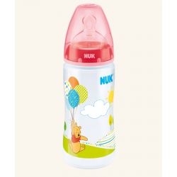 Nuk Disney First Choice Bottle 300ml - Red (0-6 Months)