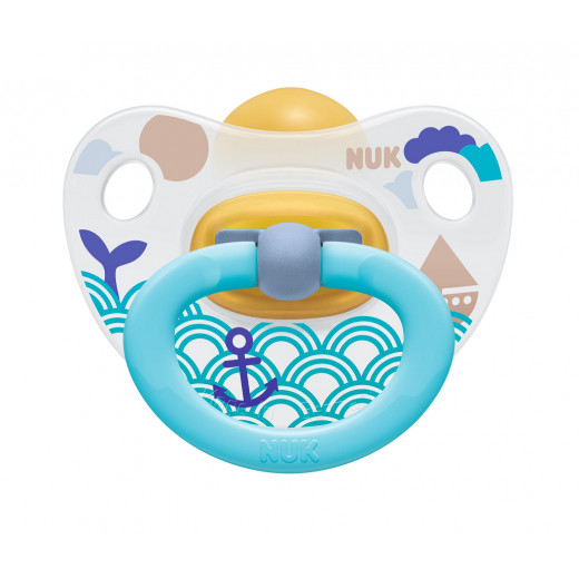 Nuk Latex Soother Stage 2 (Blue Whale) 6-18 months