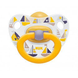 Nuk Latex Soother Stage 2 (Yellow) 6-18 months