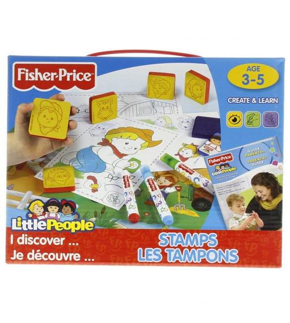 Fisher Price Stamp Set