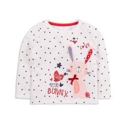 Primark Long sleeve shirt 9-12 Months (Little Bunny)
