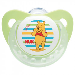 Nuk Silicon Soother Disney Trendline Stage 2 - Green (6-18 months)