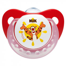 Nuk Silicon Soother Disney Trendline stage 2 (Red)
