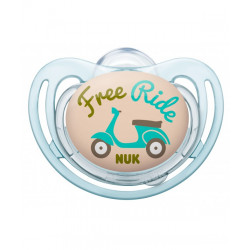 Nuk Silicone Soother Free Style Stage 1 (Free Ride)