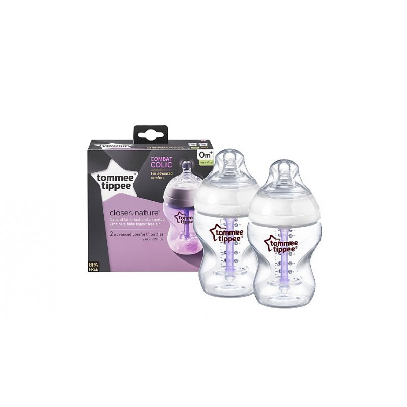 Tommee Tippee Closer To Nature Advanced Comfort Bottles
