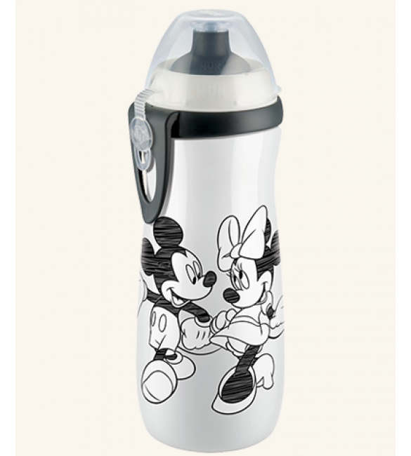 NUK Disney Mickey Sports Cup 450ml with push-pull spout - White