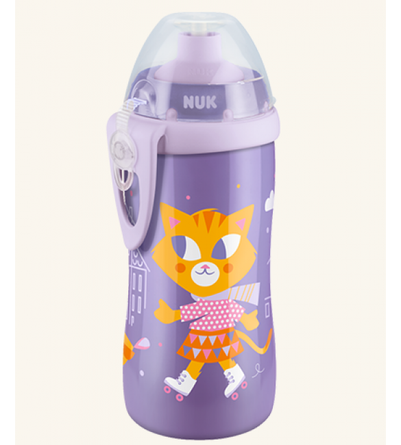 NUK junior push pull cup - Purple