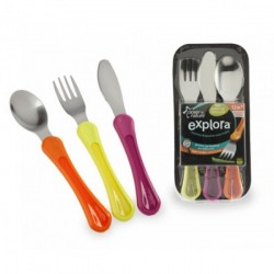 Tommee Tippee First Grown Up Cutlery Set - Orange