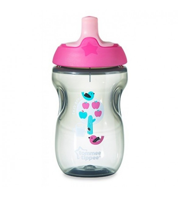 Tommee Tippee Active Sports Cup 12m+ -pink