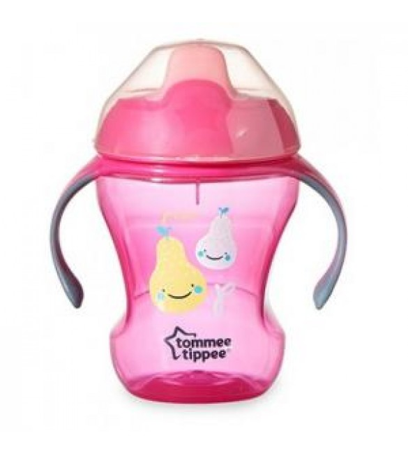 Tommee Tippee Training Sippee Cup 7m+pink