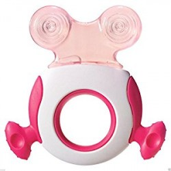 Tommee Tippee Closer To Nature Teether (Stage 2) 4+ Pink