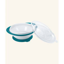 Nuk Easy Learning Bowls With Two Lids - Blue