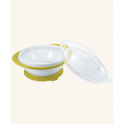 Nuk Easy Learning Bowl With Two Lids - Green