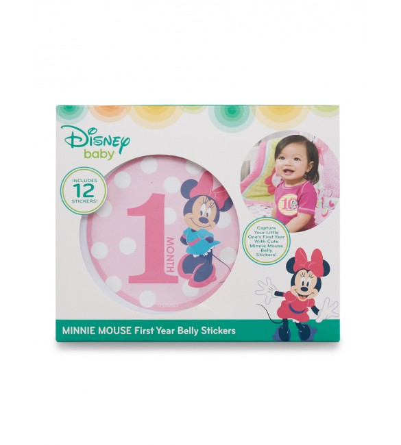 Minnie Mouse First Year Belly Stickers