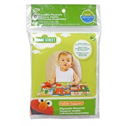 Sesame Street Table Topper Disposable Stick-on Placemats