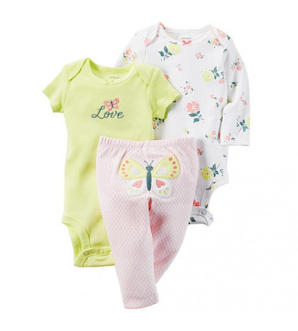 Carter's baby clothing 3 Pcs  24 Months