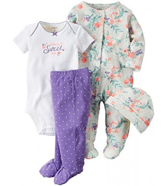 Carter's baby clothing 3 Pcs New Born & 9 Months