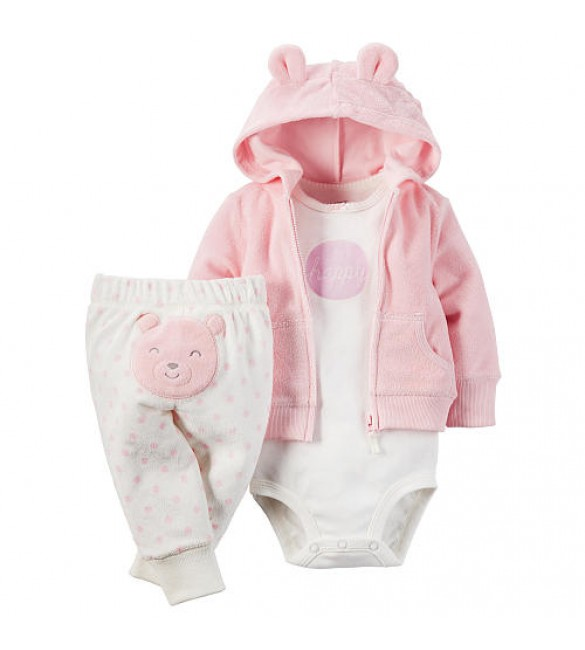 Carter's baby clothing 3 Pcs 6 Months & 9 Months