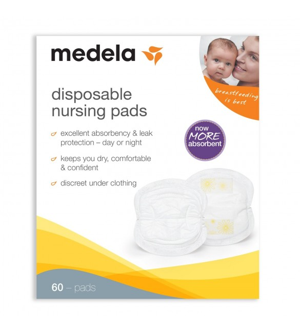 Disposable Nursing Pads 60 pcs