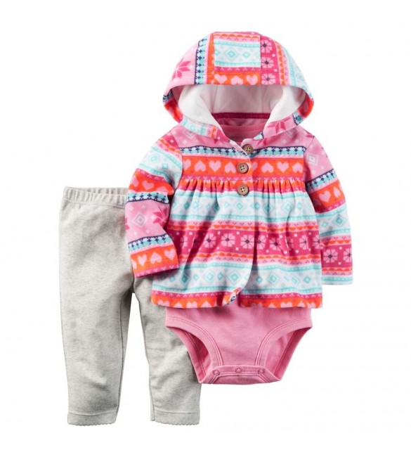 Carter's baby clothing 3 Pcs 6 Months