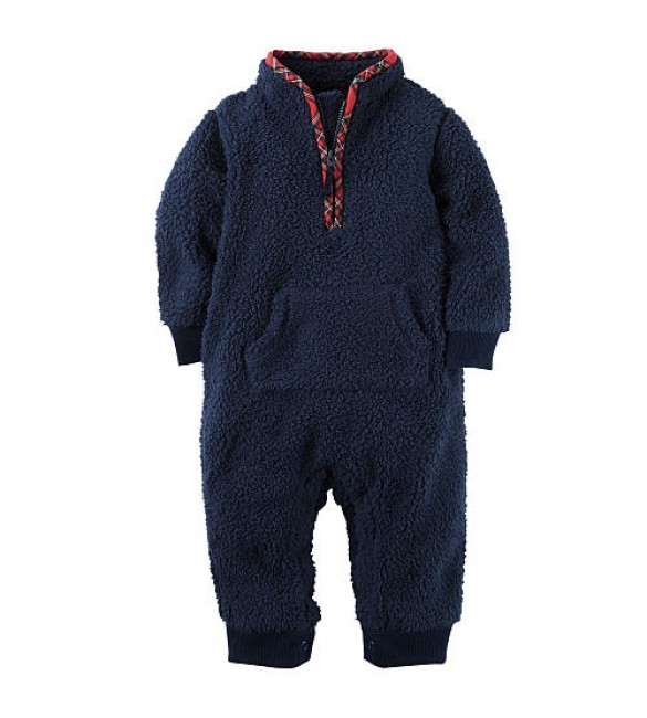 Carters Bodysuit - 9 Months & 12 Months (Dark Blue)