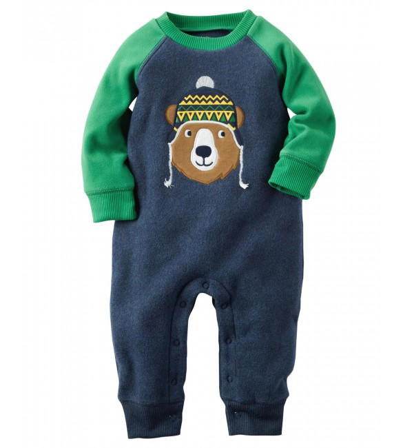 Carter's bodysuit- 3 Months (Green)