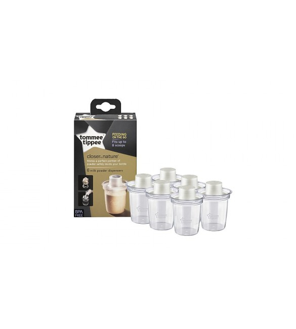 Tommee Tippee  Milk Powder Dispenser x6 ALL
