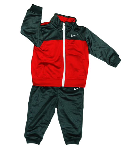 Nike tracksuit 2 piece set Gray/Red 12months