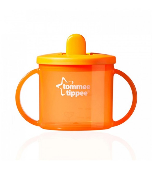 Tommee Tippee Essentials First Cup 4m-orange
