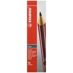 Stabilo Opera B-Pack of 12 Pencils